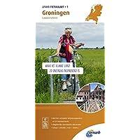 Radwanderkarte 01 Groningen, Lauwersmeer 1:50 000 (ANWB fietskaart (1))