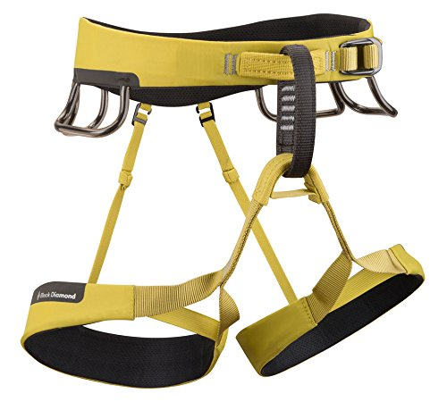 Black Diamond Ozone Harness, Sulfur, Small