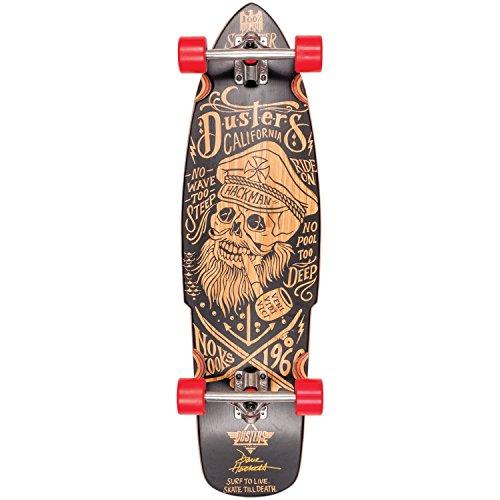 Dusters Hackman KRYPTONICS Skateboard Unisex Erwachsene, Mehrfarbig