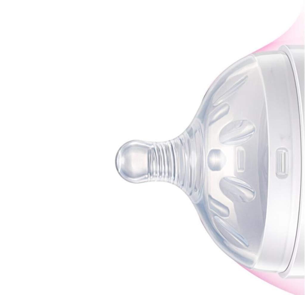 Amazon.com : Newborn Baby Bottle - Wide Caliber Imitation Cream Baby ...