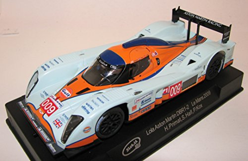 (Slot.It Lola Aston Martin DBR1-2 Le Mans 2009 #009 Performance Slot Car (1:32 Scale), One Size, Gulf Livery)