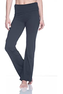super specials better price sale retailer Amazon.com : Gaiam Apparel Womens Nova Bootcut Pants : Clothing