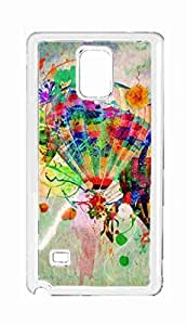 abstract doodle Snap-on Hard Back Case Cover Shell for Samsung Galaxy Note 4 -3351