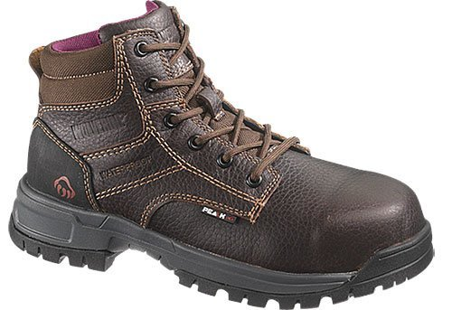 Wolverine Women's Piper Comp Safety Toe Boot,Brown,8.5 W US