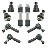 xterra upper ball joint - Upper Lower Ball Joints Inner Outer Tie Rod End Sway Bar Link Set for Xterra