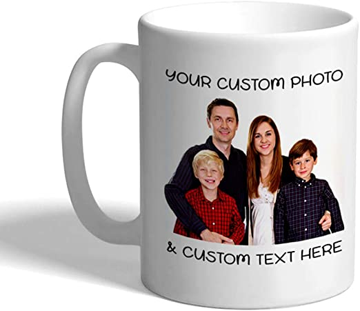 Personalised Custom Text Thermal Mug Coffee Tea Travel Flask Cup Gift