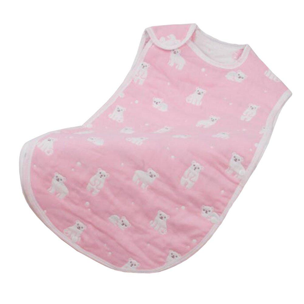 Creative Lovely Summer Spring Baby Cute Sleeping Bag Cotton Wearable Blanket kids gift,bear,XL,