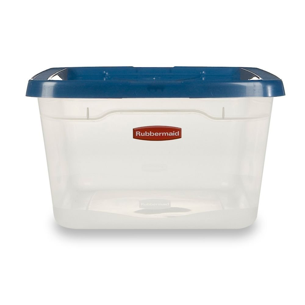 Amazon.com   Rubbermaid Storage Container, 6.5 Quart   Lidded Home Storage  Bins