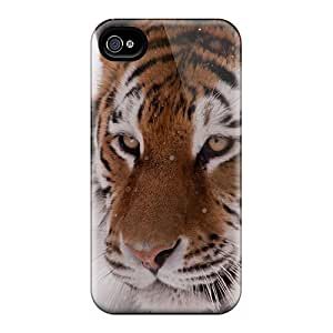Hot YYp11315syNM Tiger In Winter Cases Covers Compatible With Iphone 6