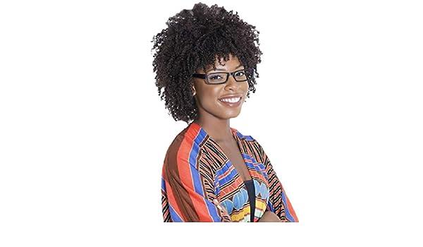 Amazon.com: HowLoo Wig Black for Womens Wave Short Hair ...