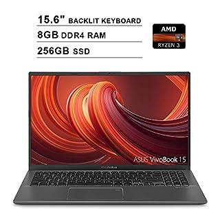 2020 NexiGo UpgradedAsus VivoBook 15.6 Inch FHD 1080P Business Laptop| AMD Ryzen 3 3200U up to 3.5GHz| 8GB DDR4 RAM| 256GB SSD| AMD Radeon Vega 3| Backlit KB| FP Reader| WiFi| HDMI| Win10| Grey