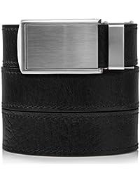 SlideBelts Men's Premium Top Grain Leather Ratchet Belt