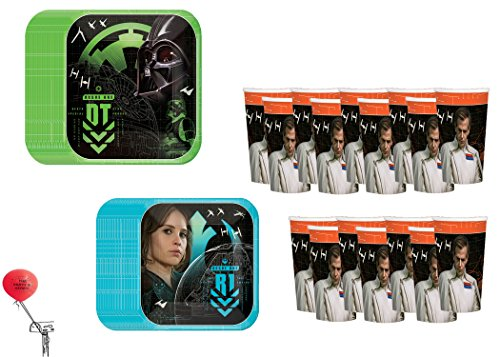 Star Wars Rogue One 16 Guest Party Kit