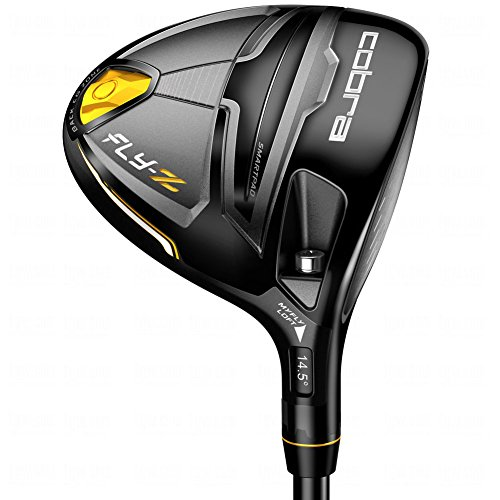 Cobra Men's Fly Z Fairway Woods, Stiff, Graphite, Black, Right Hand, 3-4W