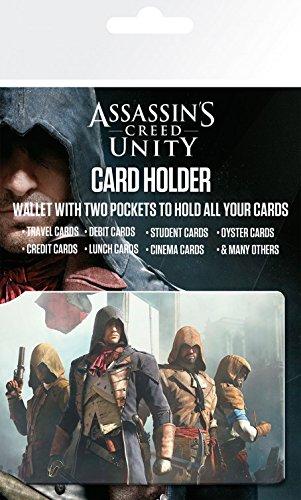 10x7 Characters voor Cm creditcards Card Creed verrassingssticker Houders Set Assassin's en 1art1 Unity 1x qxfAzT4