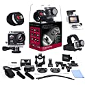 XtremePro XP4KB 4K Ultra HD Sports Camera Bundle