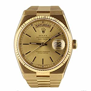 Rolex Oysterquartz Swiss-Quartz Male Watch 19018 (Certified Pre-Owned)