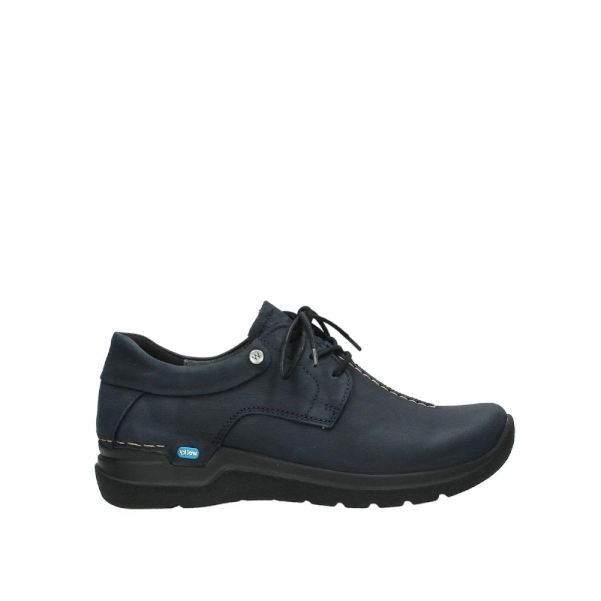 Wolky - Zapatos de Cordones para Mujer 38 EU|Azul