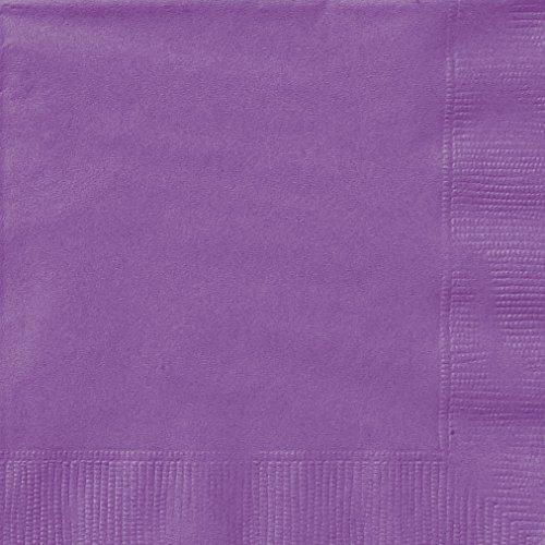 Unique 34472 Purple Paper Napkins