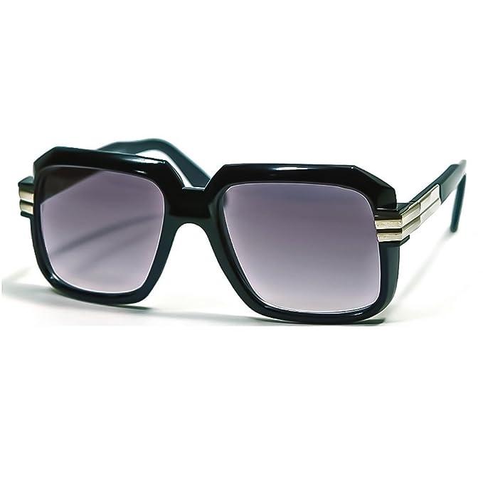 44dcba8c52 Sunglasses KISS - mod. OLD SCHOOL Classic - RUN-DMC man woman HIP-HOP  rapper vintage - BLACK  Amazon.co.uk  Clothing