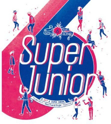 CD : Super Junior - Spy (Asia - Import)
