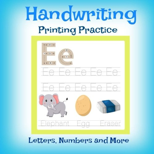 Letters Preschool and Up Handwriting Printing Practice Numbers and More!