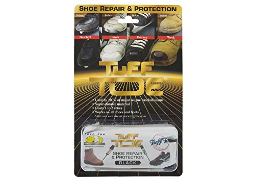 Tuff Toe Polyurethane Work/Sport Boot Protector chemical and water-resistant (Black)