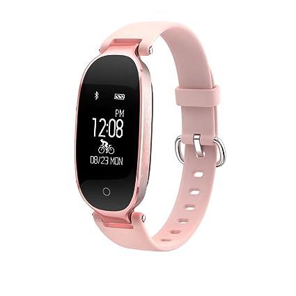 Pulsera inteligente de seguimiento de actividad física, pulsera inteligente de reloj, monitor de ritmo
