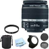 Canon EF-S 18-55mm f/3.5-5.6 IS II Premium Lens Bundle (White Box)- International Model