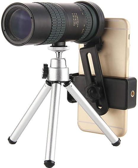 Jszzz Telescopio monocular for Smartphone, 24X30 Continua con el ...