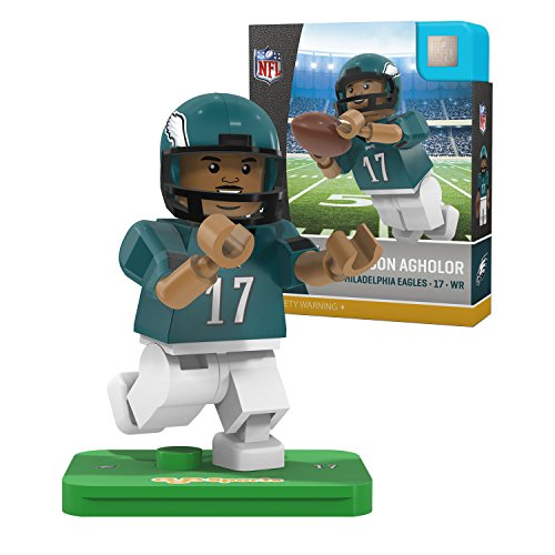 OYO NFL Philadelphia Eagles Gen4 Limited Edition Nelson Agholor Mini Figure, Small, White