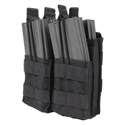 Condor Double Stacker M4 Mag Pouch (Black), Outdoor Stuffs