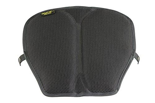 Skwoosh MSAF0910 Black Breathable Mesh Mid Size Motorcycle Gel Seat Pad