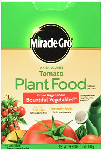 Scotts Miracle-GRO Water Soluble Tomato Plant Food - Miracle Gro Tomato Food