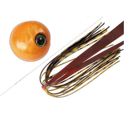 JACKALL(ジャッカル) ルアー ビンビン玉 スライド 60g オレンジオレンジ/コーラオレンジフレークの商品画像