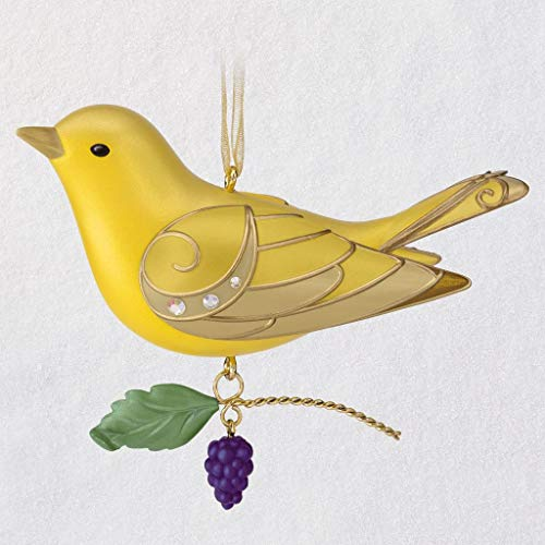 HMK Keepsake 2019 The Beauty of Birds Lady Summer Tanager Ornament
