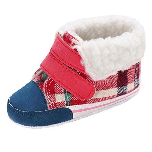 Clode® Anti rutsch Weich Winter Warm Babyschuhe Prewalker Winter Kinder Steifel Blau