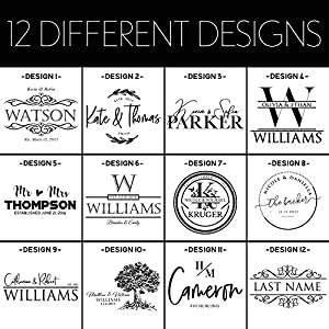 Personalized Cutting Board, House Warming Present for New Home,12 x 8, 12 Designs & 3 Sizes – Wedding Gifts for Couple…