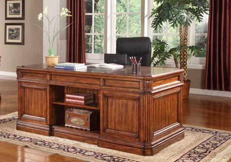 (Parker House - Grand Manor Granada Double Pedestal Executive Desk - PAH-GGRA-9080-3-CL)