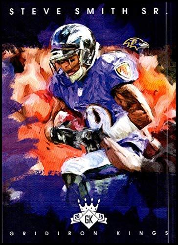 2015 Panini Gridiron Kings #54 Steve Smith Sr. NM-MT Baltimore Ravens Official NFL Football Trading - Football Nfl Steve Smith