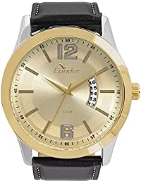 Relógio Condor Masculino Ref: Co2115ksw/5d Casual Bicolor