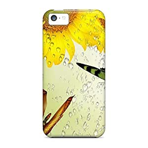For LG G3 Case Cover , Protective Case With Look - Rain On Sun