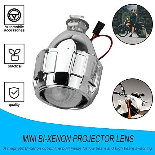 fghdf 2.5 inch Xenon Bi-Xenon-HID Klar Projektor-Linsen Shroud Scheinwerfer H1 H4 H7