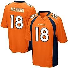 Mens Peyton Manning #18 Football Game Jersey Alternate Game Jersey