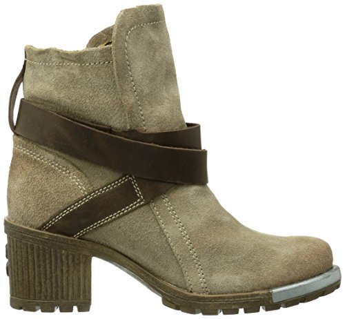 Fly London Lok, Women's Boots Green (Taupe/Dk. Brown)