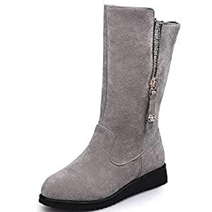 Amazon.com: Women's Shoes Nubuck leather Fall Winter