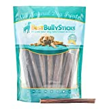 #5: All Natural 6-Inch Gullet Sticks Dog Treats by Best Bully Sticks (25 Pack)