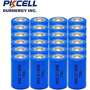 Amazon.com : ER14250 1/2AA Size Lithium Batteries (3.6V
