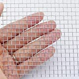 """Activists Stainless Wire Mesh 5 Mesh 12""""X"""