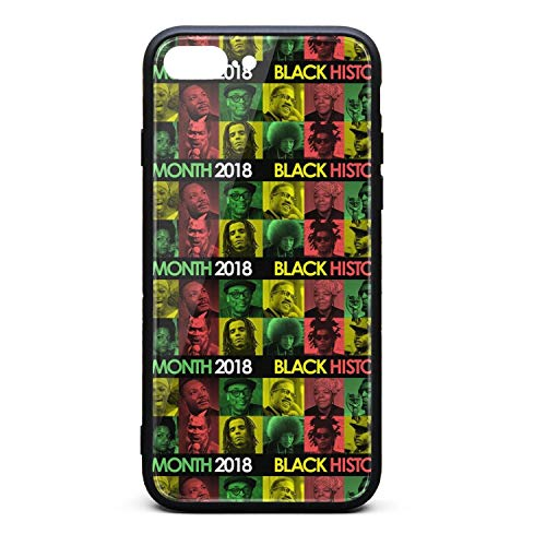 Black History Month 2018 Black Star Color IPhone7 Plus,iphone8 Plus Case Protective Sleeve Scratch-Resistant CustomClassic Skin Accessories